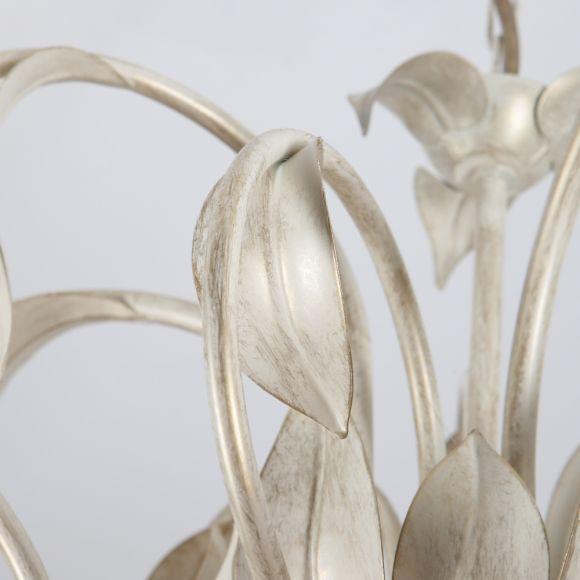 Edles Florales Design - Landhaus Kronleuchter Luna