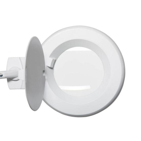 LED Lupenleuchte, Klemmfuß, verstellbar, LED tageslichtweiß, 2 Farben