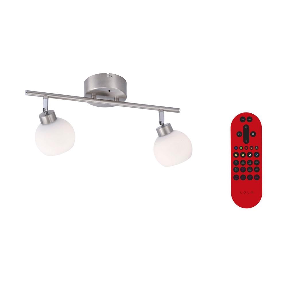 LED Deckenbalken Lola Lotta 2-flammig