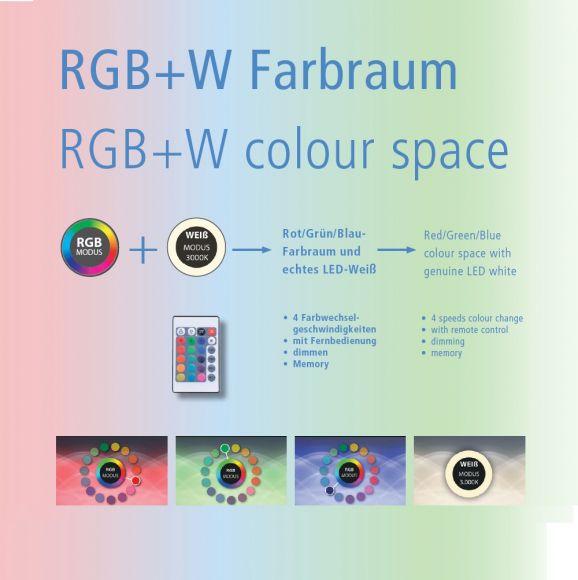 3Watt GU10 LED Leuchtmittel mit Farbwechsel, inkl. Fernbedienung
