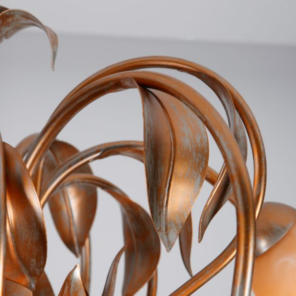 Florentiner Krone Natura - von Hand bemalt