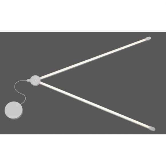 LED Stehleuchte Q-HANNES Leselampe, Smart Home, Höhe 149 cm, LED steuerbar