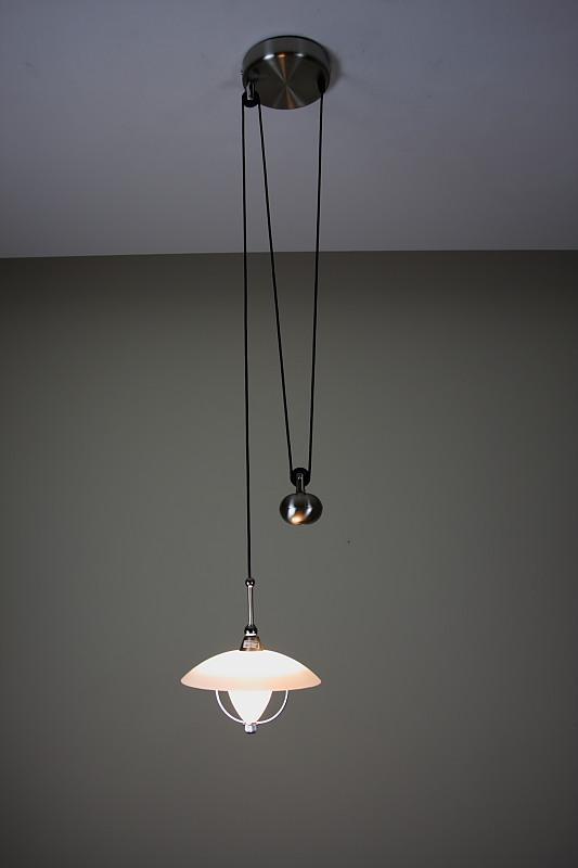 jo jo zugpendelleuchte inkl leuchtmittel wohnlicht. Black Bedroom Furniture Sets. Home Design Ideas