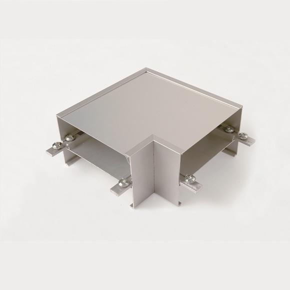 zubeh rartikel zur b ro deckenleuchte eckverbindungsst ck 90 grad wohnlicht. Black Bedroom Furniture Sets. Home Design Ideas