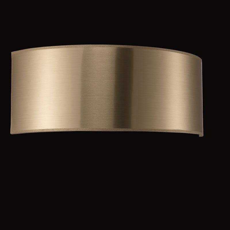 lampenschirm zur wandleuchte pvc gold innen gold wohnlicht. Black Bedroom Furniture Sets. Home Design Ideas