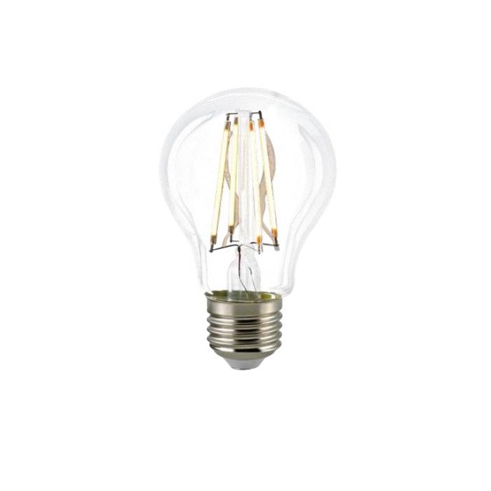 a60 agl led filament klar 8watt 2700k dimmbar wohnlicht. Black Bedroom Furniture Sets. Home Design Ideas