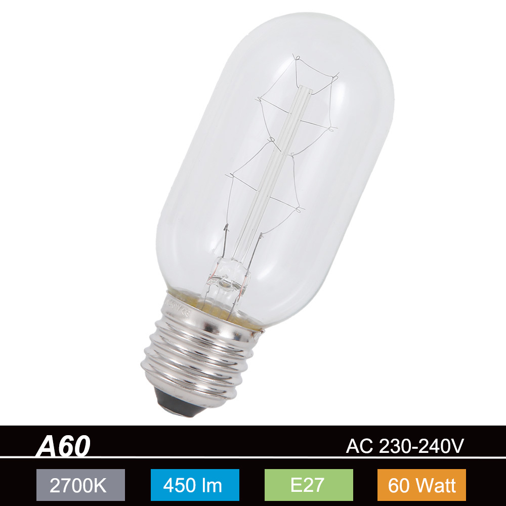 a60 agl rustika e27 60 watt 1x 60 watt 60 watt 450 0 lumen wohnlicht. Black Bedroom Furniture Sets. Home Design Ideas