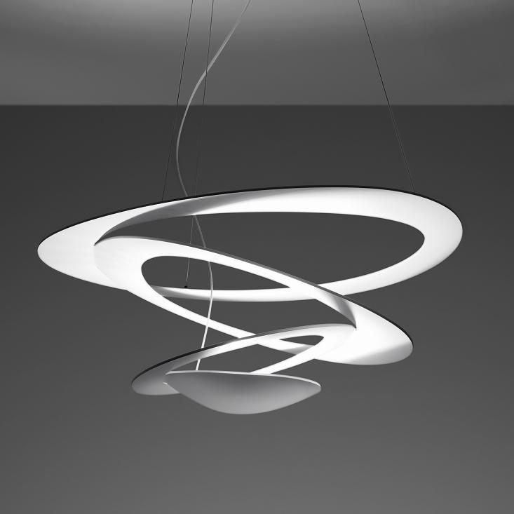 artemide pendelleuchte pirce mini in wei wohnlicht. Black Bedroom Furniture Sets. Home Design Ideas