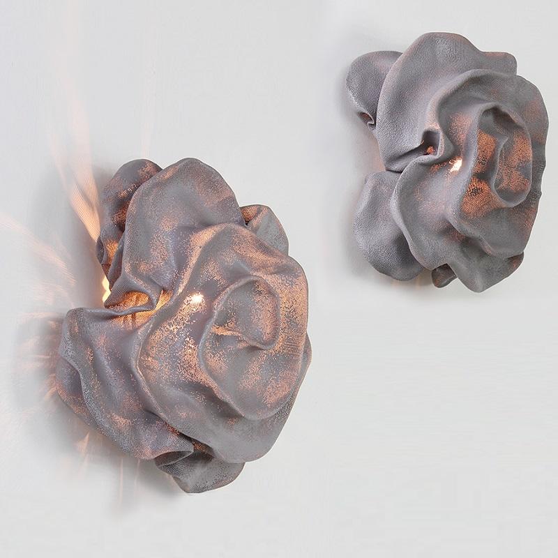 arturo alvarez designer wandleuchte nevo in grau wohnlicht. Black Bedroom Furniture Sets. Home Design Ideas