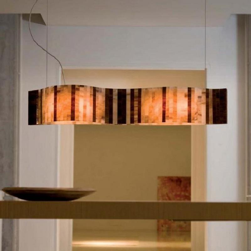 arturo alvarez led pendelleuchte vento l nge 95cm wohnlicht. Black Bedroom Furniture Sets. Home Design Ideas