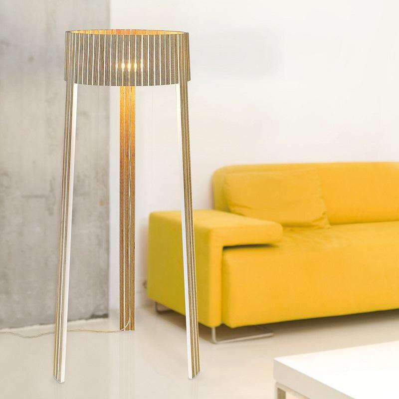 arturo alvarez stehleuchte shio 3 holzfarben w hlbar wohnlicht. Black Bedroom Furniture Sets. Home Design Ideas