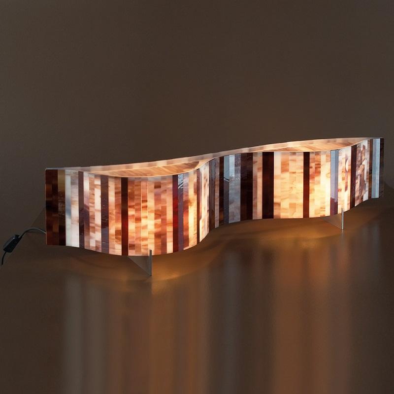 arturo alvarez tischleuchte vento l nge 96cm wohnlicht. Black Bedroom Furniture Sets. Home Design Ideas
