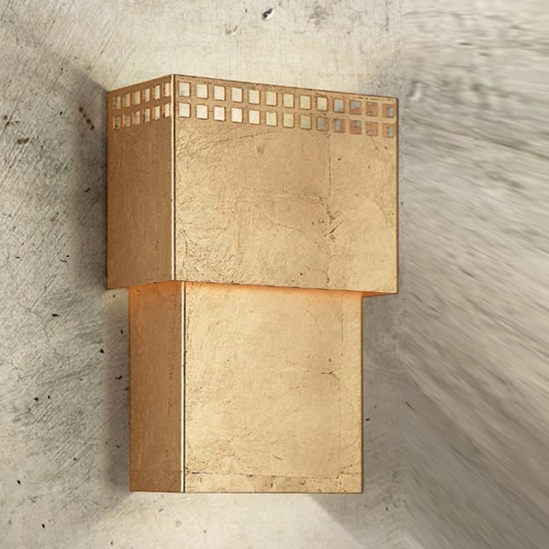 attraktive wandleuchte gold gold wohnlicht. Black Bedroom Furniture Sets. Home Design Ideas