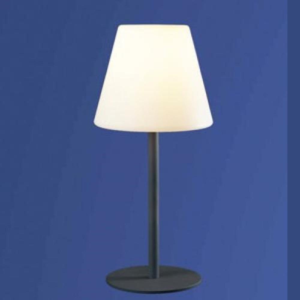 au en tischleuchte mit schirm aus polyethylen wohnlicht. Black Bedroom Furniture Sets. Home Design Ideas