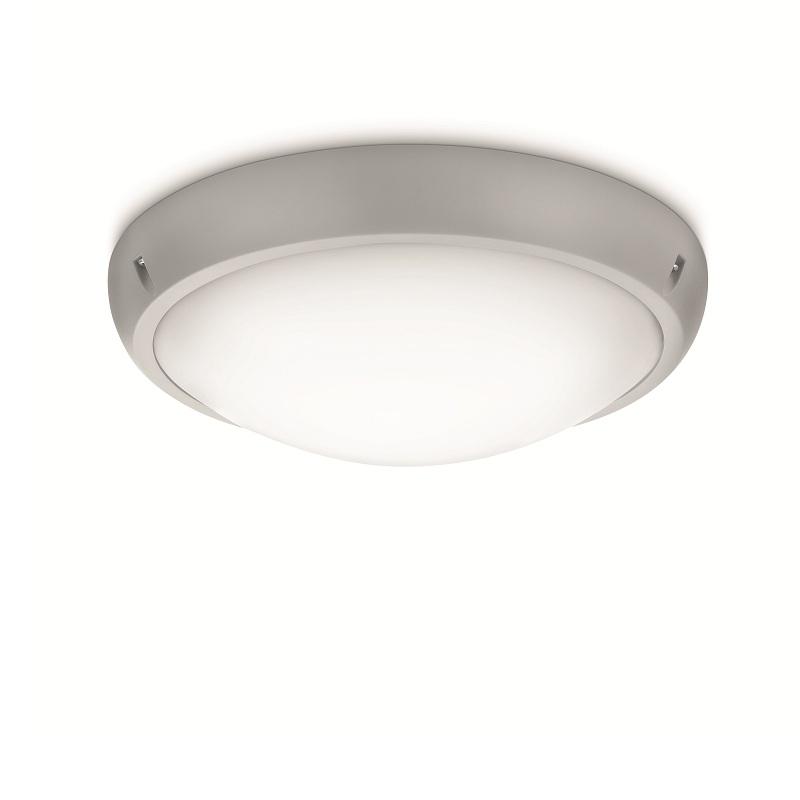 Au enwand und deckenleuchte in grau 31 6cm grau wohnlicht for Deckenleuchte grau