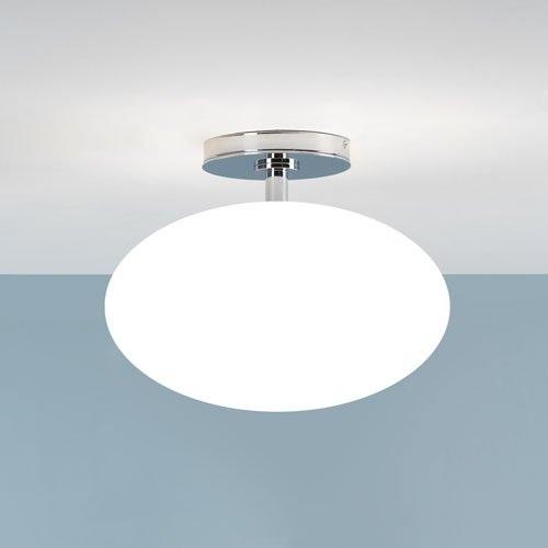 Badezimmer deckenleuchte chrom opalglas 30 cm wohnlicht - Badezimmer deckenleuchte ...