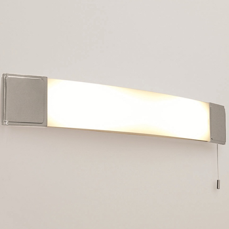 badezimmer spiegelleuchte mit zugschalter und steckdose wohnlicht. Black Bedroom Furniture Sets. Home Design Ideas