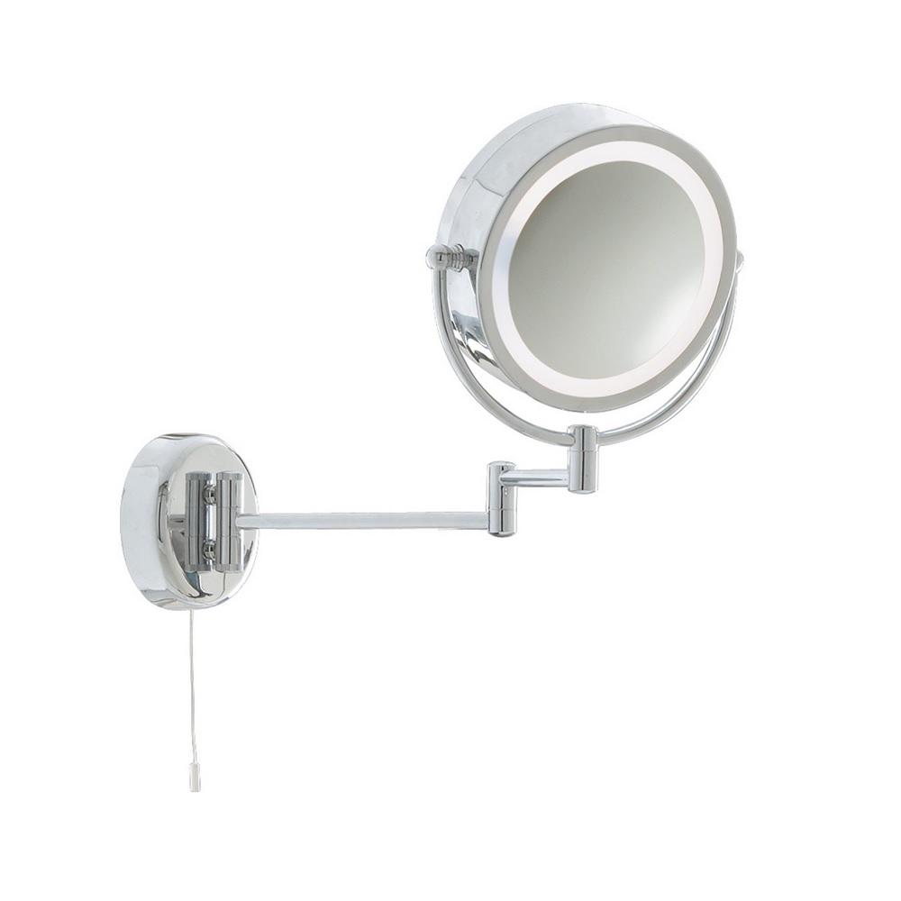 beleuchteter kosmetikspiegel f r das badezimmer wohnlicht. Black Bedroom Furniture Sets. Home Design Ideas