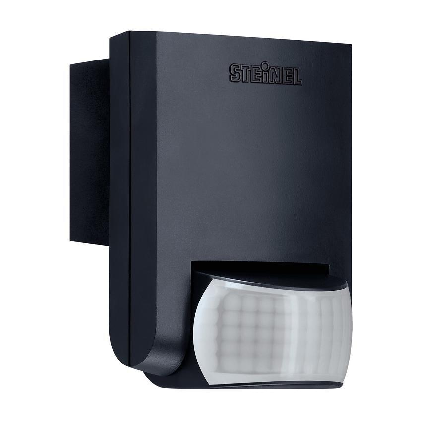 bewegungsmelder mit infrarot sensor f r innen und au en in der farbe schwarz schwarz. Black Bedroom Furniture Sets. Home Design Ideas