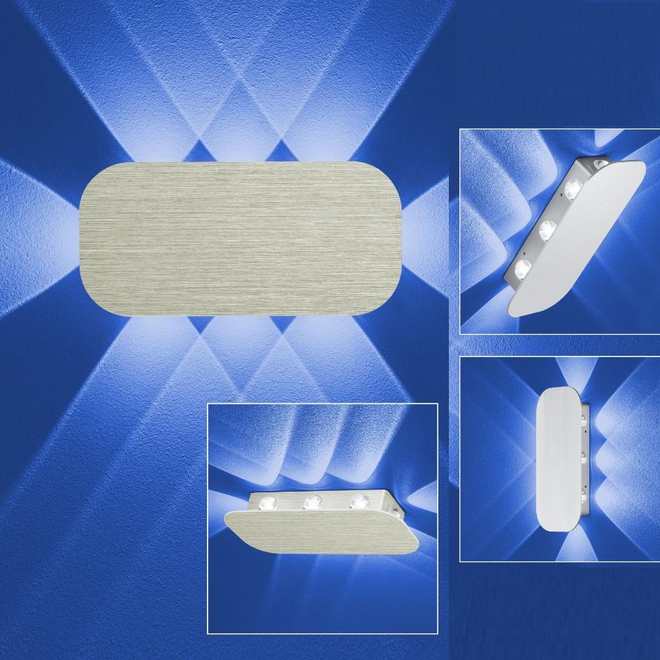 b leuchten up down led wandleuchte prince wohnlicht. Black Bedroom Furniture Sets. Home Design Ideas