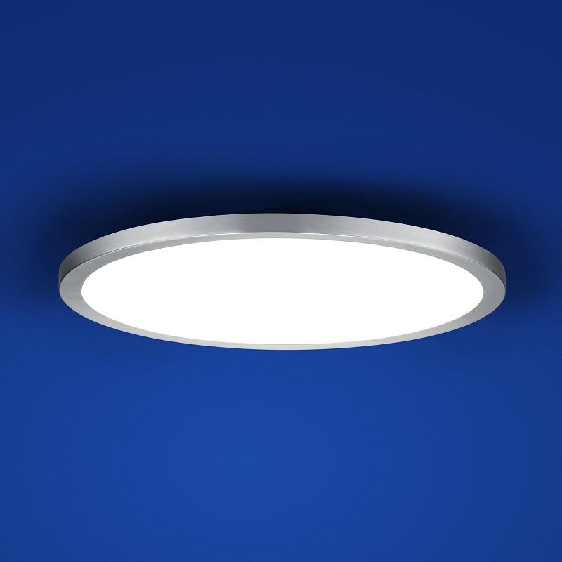 b leuchten schlichte led deckenleuchte 40 cm wohnlicht. Black Bedroom Furniture Sets. Home Design Ideas