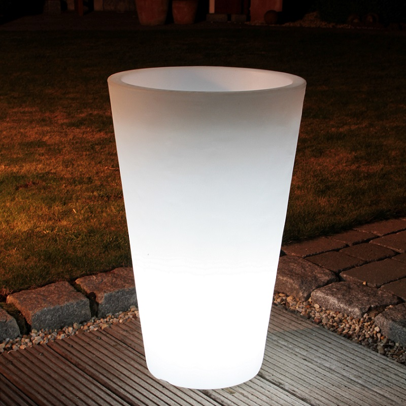 blumentopf shining pot 40cm 63 00 cm 40 00 cm wohnlicht. Black Bedroom Furniture Sets. Home Design Ideas