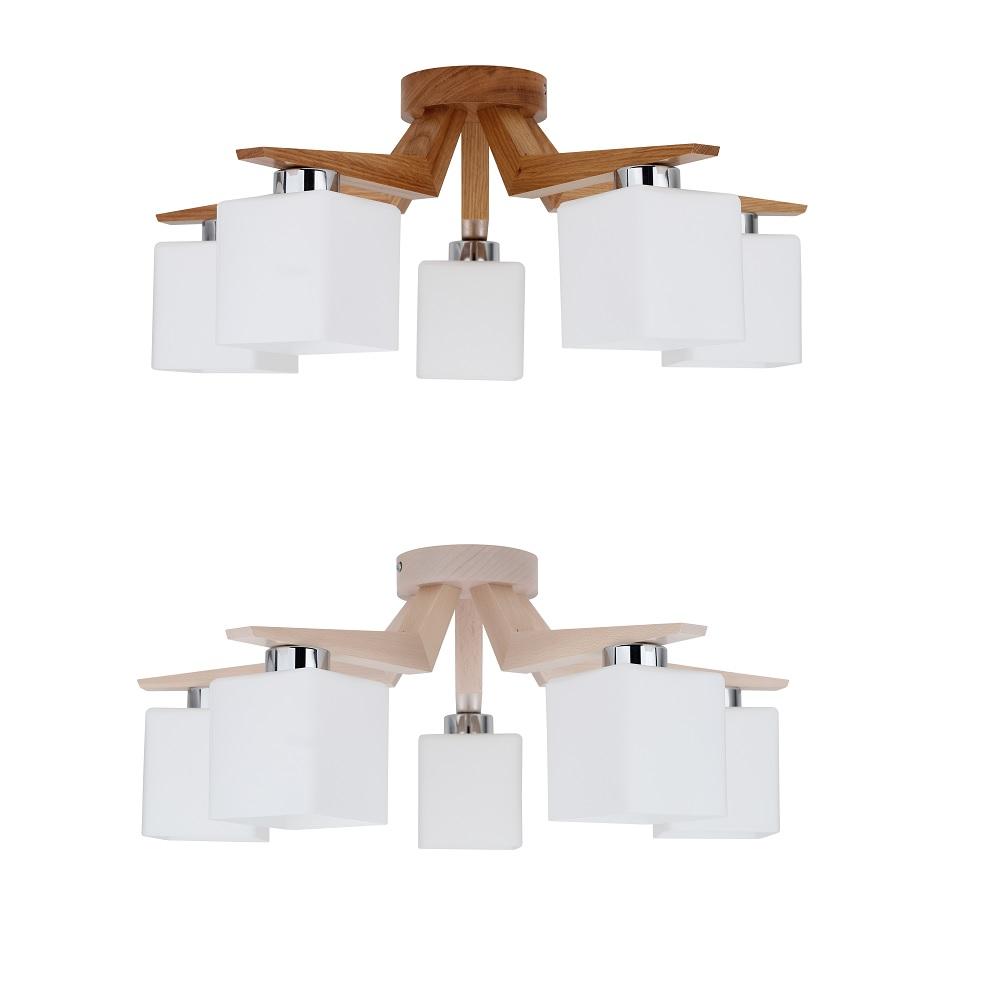 deckenlampe saga aus holz zwei ausf hrungen wohnlicht. Black Bedroom Furniture Sets. Home Design Ideas