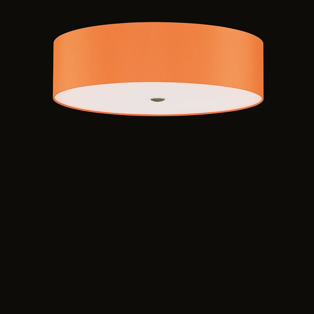 deckenleuchte alea orange chintzschirm 60 cm 3x 46 watt. Black Bedroom Furniture Sets. Home Design Ideas