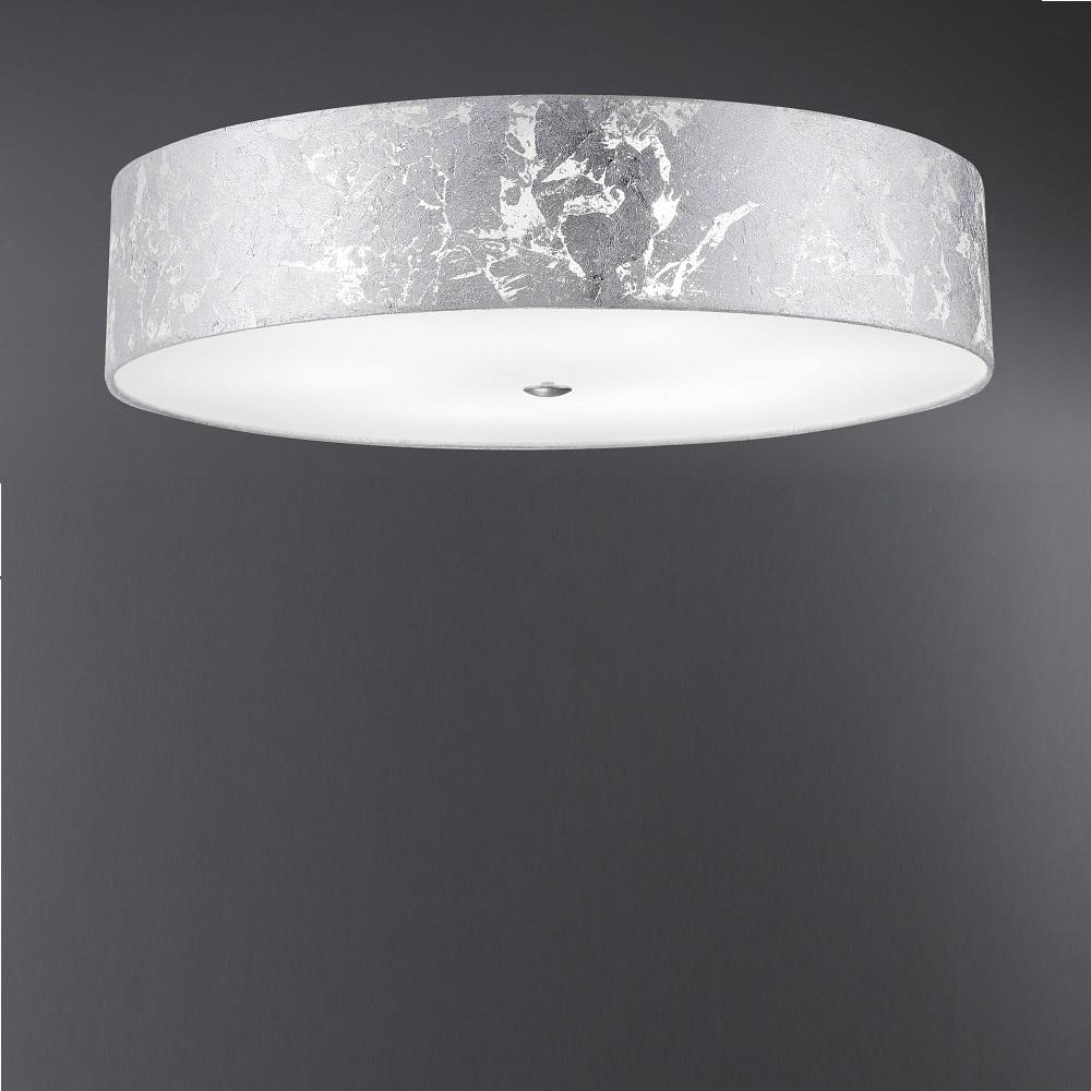 deckenleuchte alea schirm blattsilber 60 cm wohnlicht. Black Bedroom Furniture Sets. Home Design Ideas