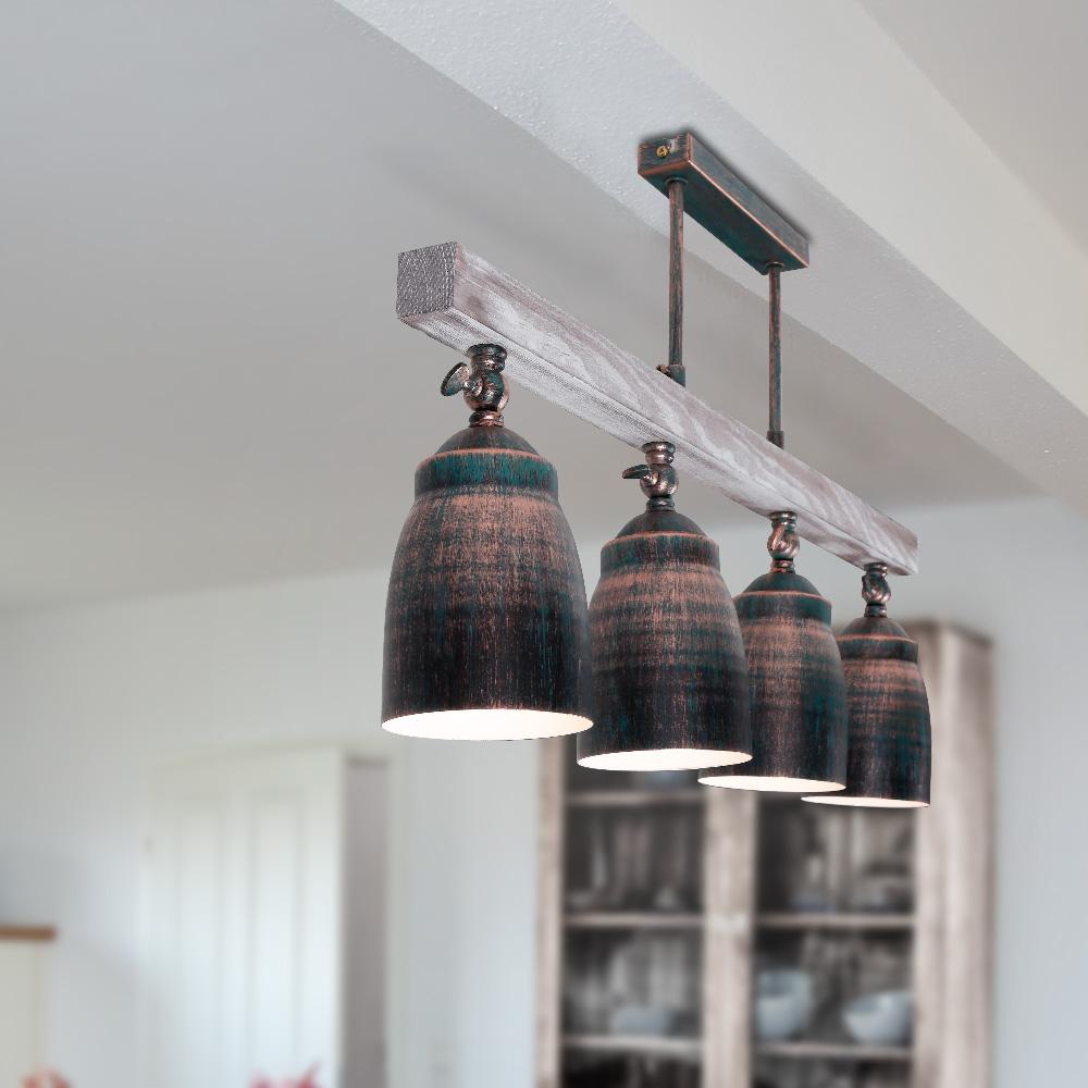 deckenleuchte alejo 4 flammig 4x 60 watt 72 00 cm 4 flammig wohnlicht. Black Bedroom Furniture Sets. Home Design Ideas