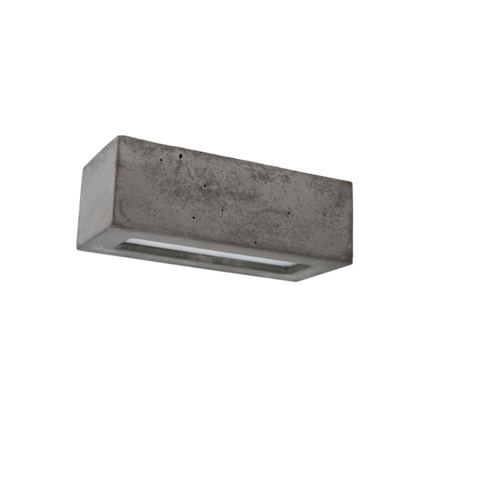 deckenleuchte aus beton block e27 60w wohnlicht. Black Bedroom Furniture Sets. Home Design Ideas