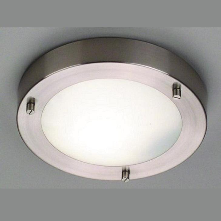 deckenleuchte aus geb rstetem stahl f r das badezimmer 18 cm wohnlicht. Black Bedroom Furniture Sets. Home Design Ideas