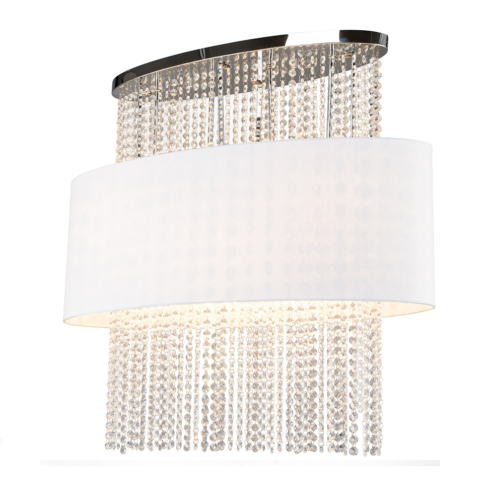 deckenleuchte kristall oval h he 72cm breite 80cm 4x 40 watt 72 00 cm 80 00 cm wohnlicht. Black Bedroom Furniture Sets. Home Design Ideas