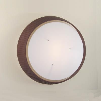 deckenleuchte mit plissee stoffschirm 40 cm braun braun wohnlicht. Black Bedroom Furniture Sets. Home Design Ideas