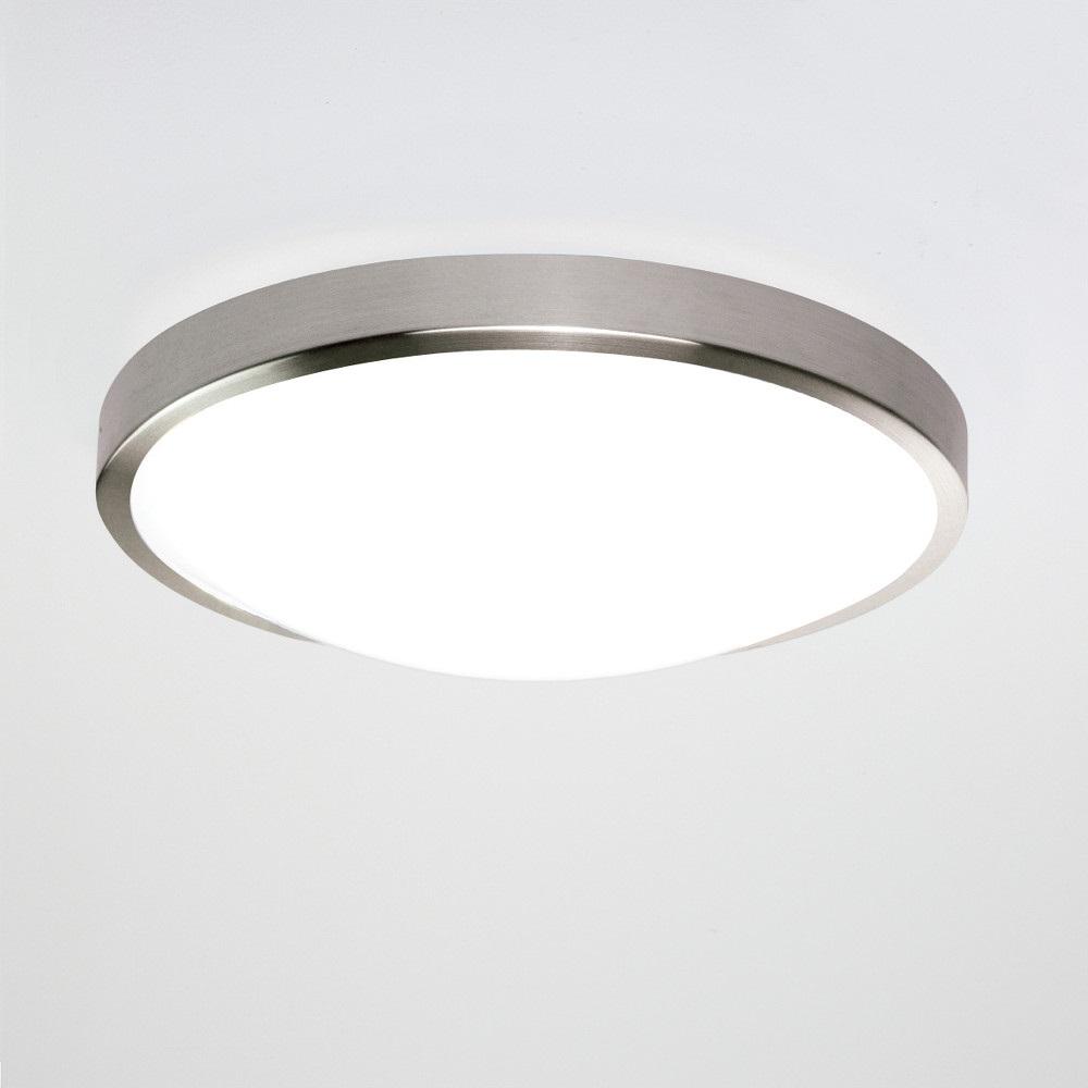 deckenleuchte mit sensor nickel matt opalglas 22 41w led nickel matt matt wohnlicht. Black Bedroom Furniture Sets. Home Design Ideas