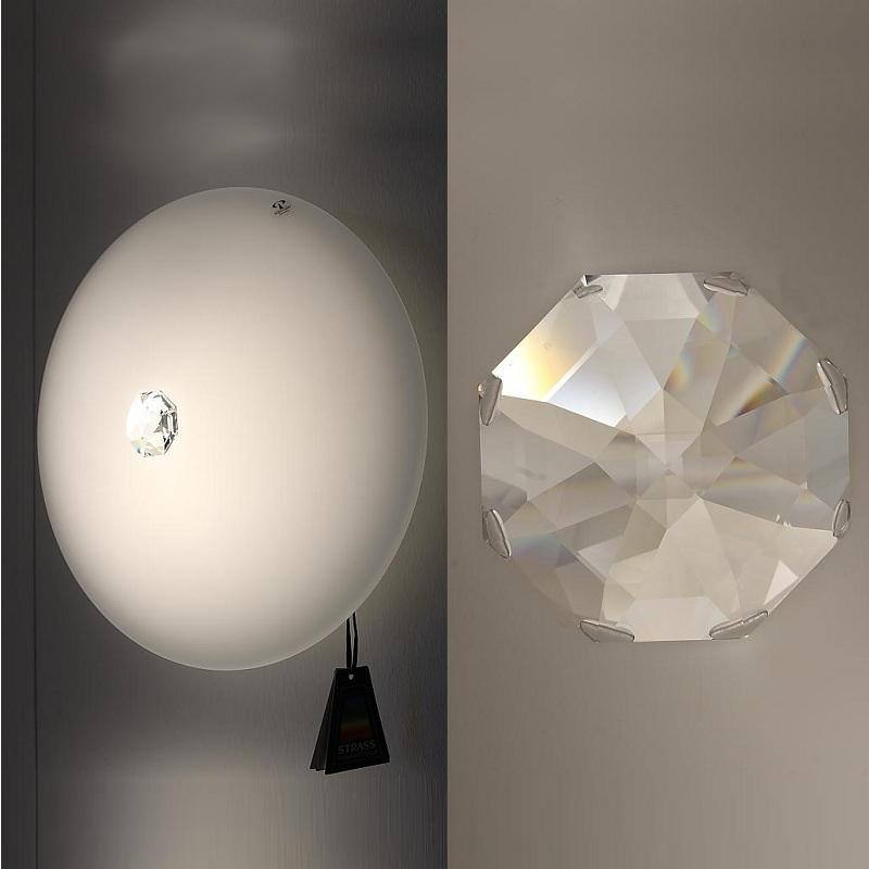 deckenleuchte mit swarowski kristall 32cm 1x 20 watt 9 50 cm 32 00 cm wohnlicht. Black Bedroom Furniture Sets. Home Design Ideas