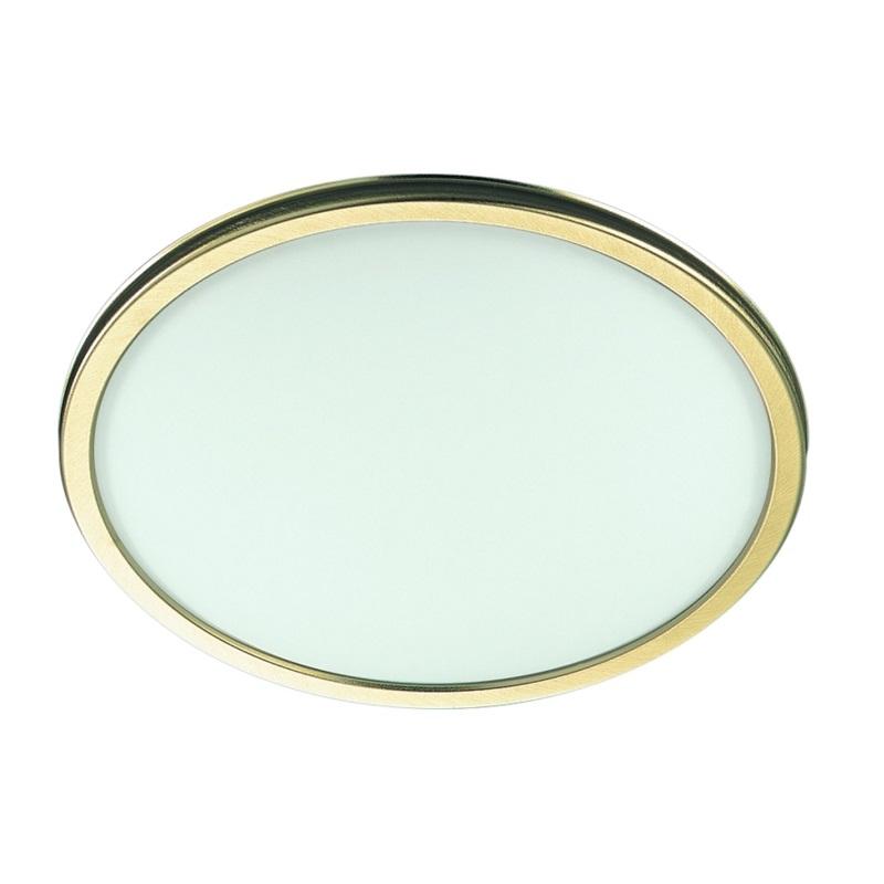 Deckenleuchte opalglas rand messing 2 gr en wohnlicht for Deckenleuchte messing dimmbar