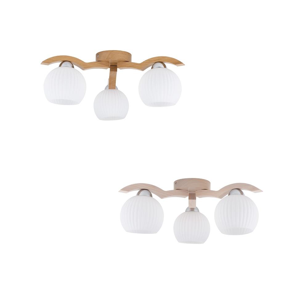 deckenleuchte vasa aus holz zwei varianten wohnlicht. Black Bedroom Furniture Sets. Home Design Ideas