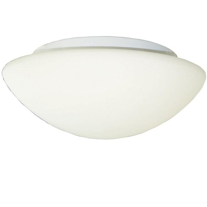 deckenleuchte in wei mit sensor 30cm inklusive leuchtmittel wohnlicht. Black Bedroom Furniture Sets. Home Design Ideas