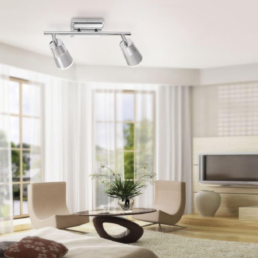 deckenstrahler dalli 2flammig wohnlicht. Black Bedroom Furniture Sets. Home Design Ideas