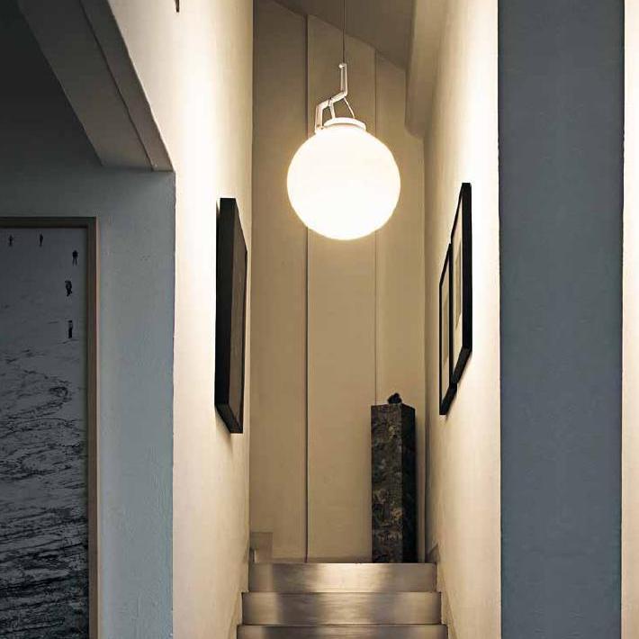 designer pendelleuchte glassglass von luceplan 4. Black Bedroom Furniture Sets. Home Design Ideas