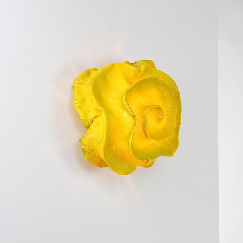 arturo alvarez designer wandleuchte nevo in gelb wohnlicht. Black Bedroom Furniture Sets. Home Design Ideas