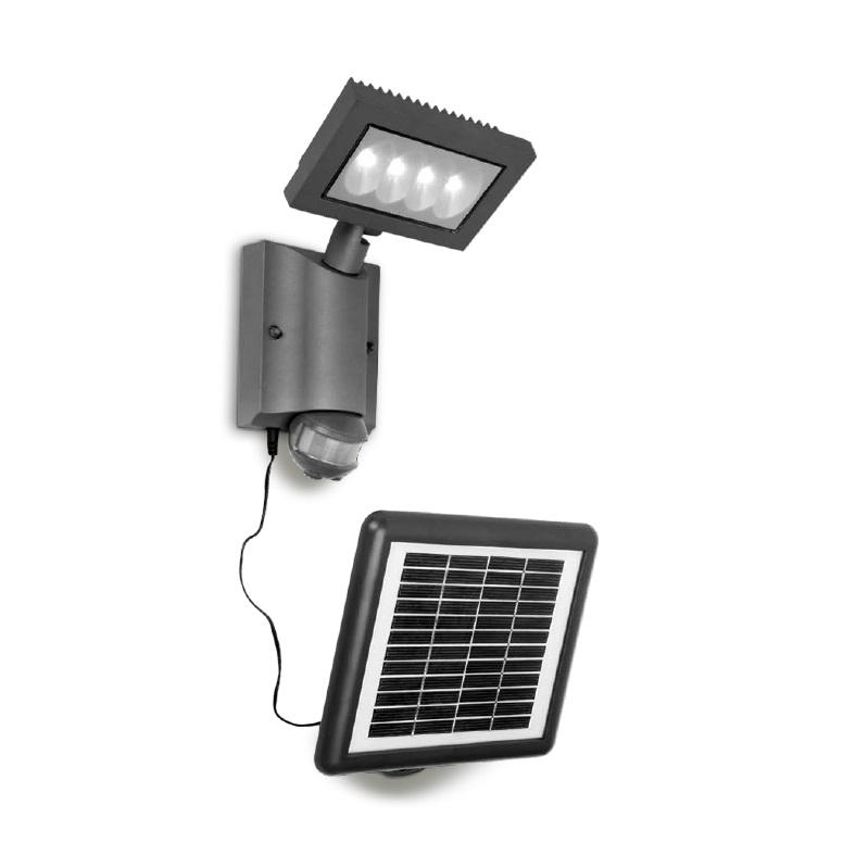 design solar led leuchte mit bewegungsmelder wohnlicht. Black Bedroom Furniture Sets. Home Design Ideas