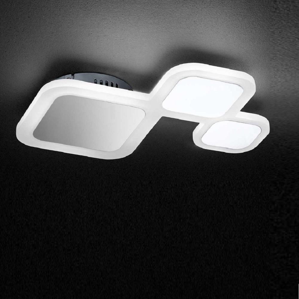 dimmbare led deckenleuchte drom 3flg wohnlicht. Black Bedroom Furniture Sets. Home Design Ideas