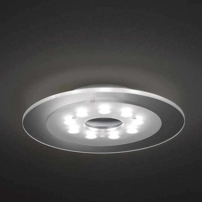 dimmbare led deckenleuchte 45 cm 27 watt wohnlicht. Black Bedroom Furniture Sets. Home Design Ideas
