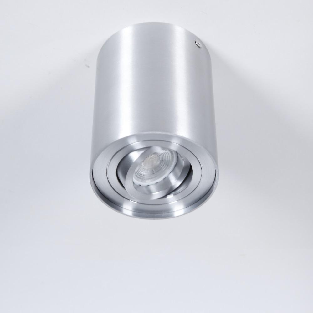 downlight aus aluminium inklusive led 7 watt wohnlicht. Black Bedroom Furniture Sets. Home Design Ideas