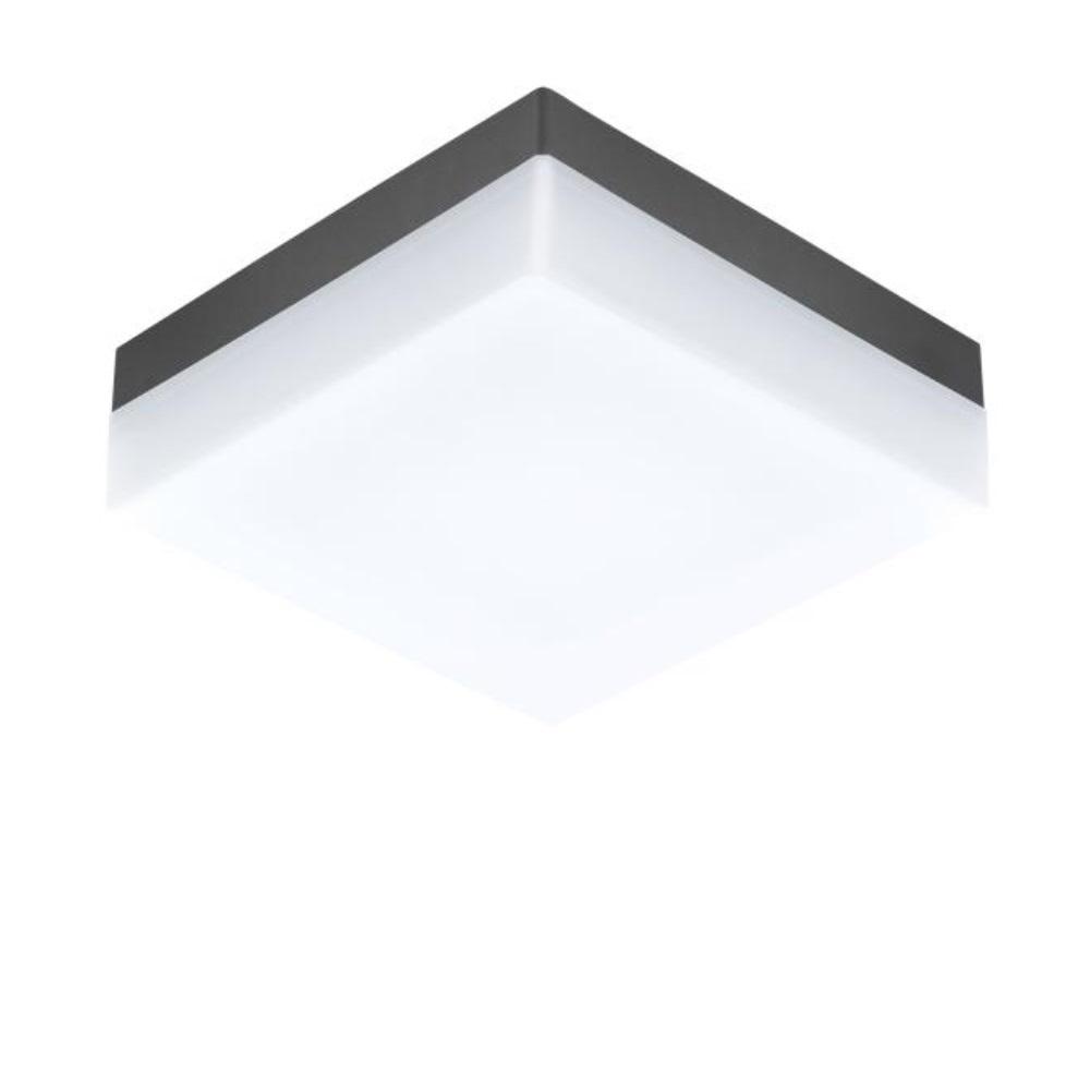 f r wand oder decke led au enleuchte sonella anthrazit anthrazit wohnlicht. Black Bedroom Furniture Sets. Home Design Ideas