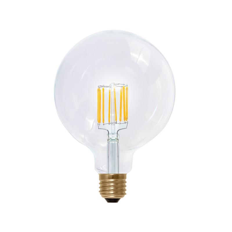 g125 led globe 8 5 watt e27 filament 2200k edison bauform klar dimmbar wohnlicht. Black Bedroom Furniture Sets. Home Design Ideas