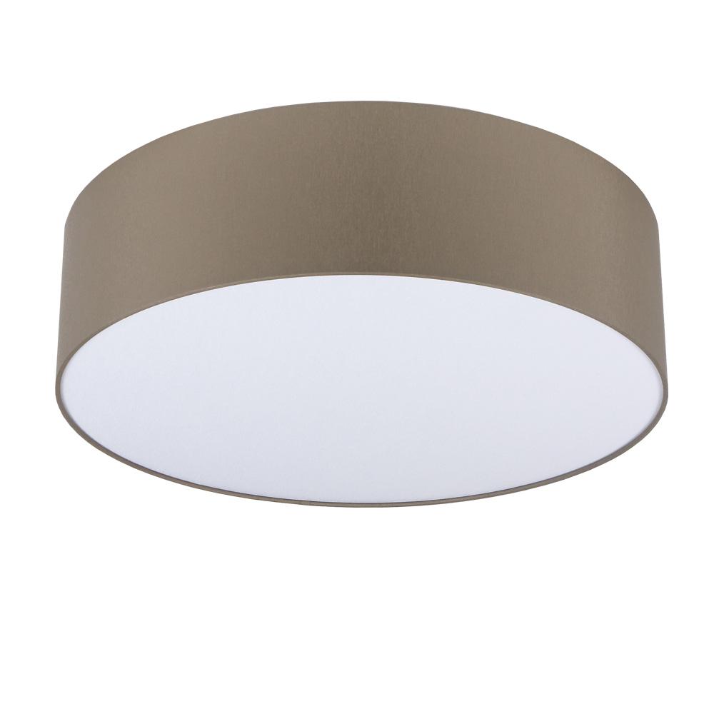 deckenleuchte mara chintz stoffschirm grau braun 60 cm 60 00 cm wohnlicht. Black Bedroom Furniture Sets. Home Design Ideas