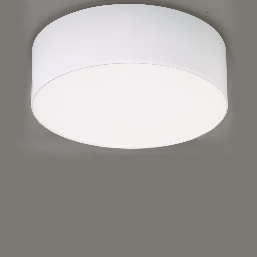 deckenleuchte mara chintz stoffschirm wei 60 cm 3x 57. Black Bedroom Furniture Sets. Home Design Ideas